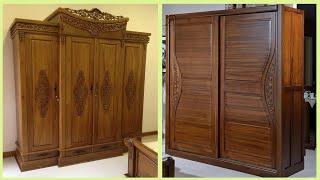 150+ Wooden Almirah/Cupboard Designs & Ideas For Bedroom