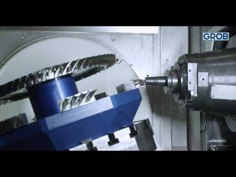 Bearbeitung eines Blisks auf einer G350 – Generation 2