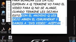 Como Grabar Un Dvd Con DVDFLICK Y CDBUERNERXP