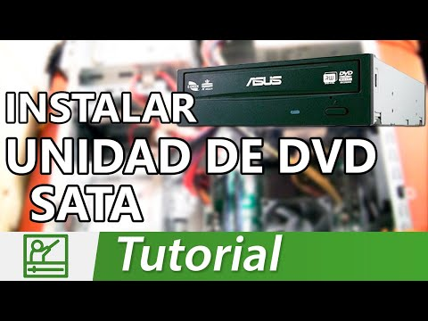 Cómo instalar un lector de DVD SATA interno a una PC