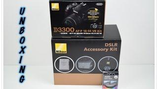 Unboxing Nikon D3300 Bundle Kit