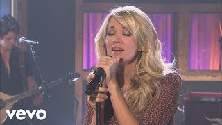 Carrie Underwood - Mama's Song (Walmart Soundcheck 2009)