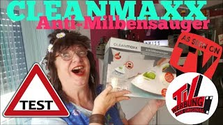 CLEANMAXX ANTI-MILBENSAUGER AUF DEM PRÜFSTAND -  TAUGT DAS WAS?