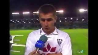 Albacete 4 - Valladolid 2. Temp. 95/96. Jor. 6