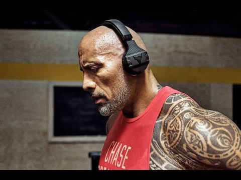 THE BEST WORKOUT HEADPHONES EVER!? - The Project Rock Headphones by Dwayne