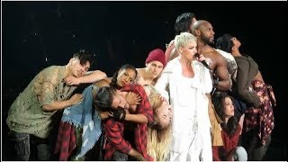 "P!NK - ""What About Us"" - Madison Square Garden - April 4, 2018"