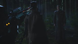 Legends Of Tomorrow 1x04 Battle in the forest with Time Master Druce and Chronos