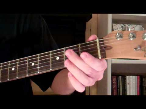 How To Play the Amaj7 Chord On Guitar (A Major 7)