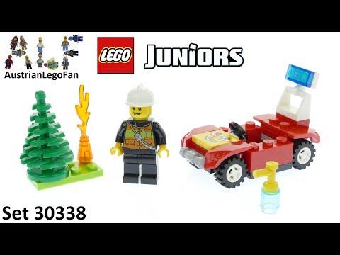 Vidéo LEGO Juniors 30338 : Voiture de pompiers (Polybag)