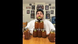 How to Make STRONG Apple Pie Moonshine EASY  (youtube debut)