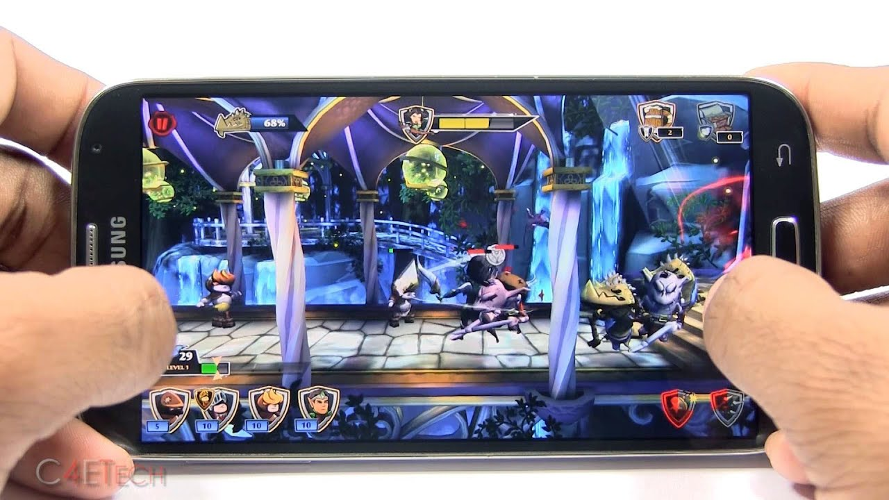 Descargar Top 10 Free Android Games – March 2014 (shown on the Galaxy S4) – Games4Droid #14 para Celular  #Android
