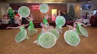 Chinese Umbrella Dance - Jasmine Flower 茉莉花開 - Colours of Dance Xmas Party 2017