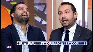 """yassine belattar clash frontalement un député FN : """" j"""