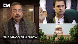 The Vinod Dua Show Episode 19 : Notice to Rahul Gandhi by NCW & 10% quota bill challenged in SC