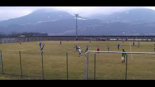Hinspiel des Viertelfinales endet unglücklich 1-1