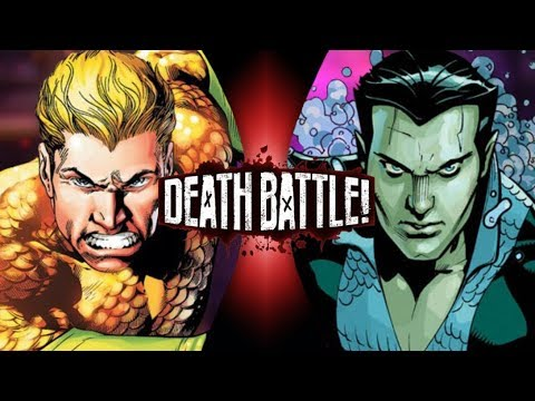 Reaction to Death Battle Aquaman vs Namor