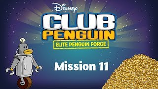 Club Penguin: Elite Penguin Force Mission 11 - Robotomy 101