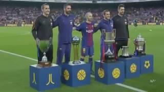 Barcelona Vs Villarreal (5-1 Full Match Highlidhts And Goal)