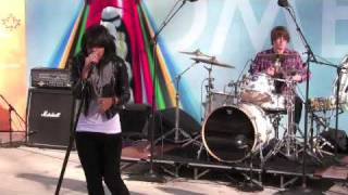 """Fefe Dobson at the Canadian Embassy - Pt. 2 - """"Didnt See You Coming"""" and """"In Your Touch"""""""