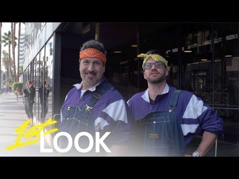NSYNC's Joey Fatone Hits the Hollywood Walk of Fame with Johnny Bananas | 1st Look TV