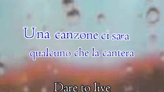 Andrea Bocelli feat Laura Pausini - Dare To Live (Vivere) - Karaoke Version