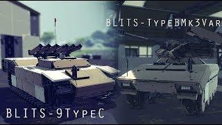 Besiege Build#113 Blits-9TypeC & Blits-TypeBMk3Var