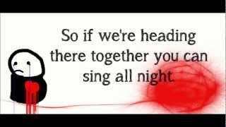 I Don't Care If You're Contagious - Pierce the Veil (Lyrics)