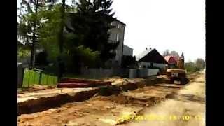 preview picture of video 'Przejazd przez Strojec - 29.04.2012'