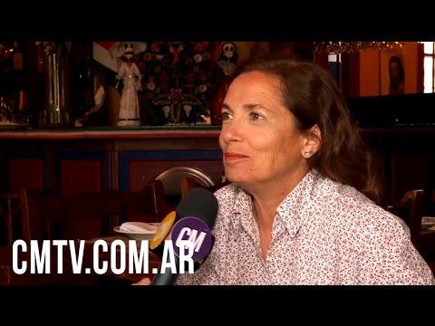 Sandra Mihanovich video Cumple 40 años con la música - Entrevista CM 2016