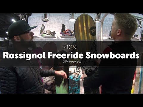 2019 Rossignol Freeride Snowboards – Preview