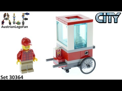 Vidéo LEGO City 30364 : Popcorn Cart (Polybag)