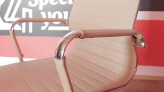 "Кресло Special4You Solano 3 artleather beige от компании Компания ""TECHNOVA"" - видео"