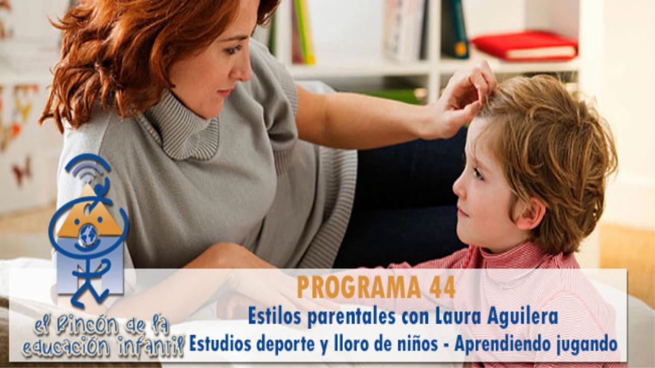 Modelos parentales - Estudios Deporte - Rafael Sanz - Aprender jugando (p44)