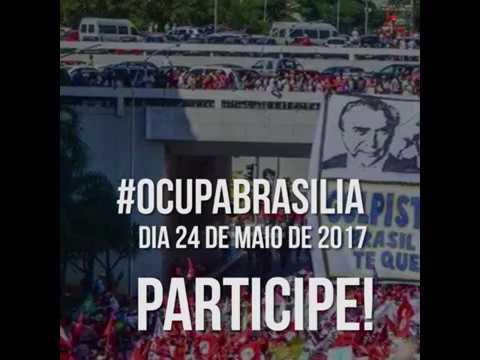 Dia 24 de maio, movimentos sociais vão ocupar Brasília em ato por Diretas Já