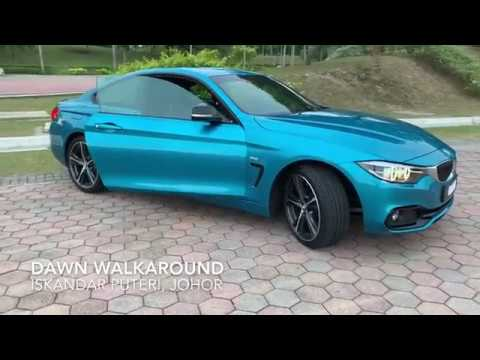 2019 BMW 4 Series 420i Coupe Sports LCI F32 by BMW Malaysia - Snapper Rocks Blue