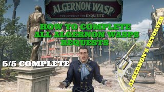 How To Complete All Algernon Wasp's Herb Quests In Red Dead Redemption 2 (Requests 1-5)