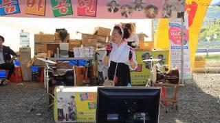 15 05 01 산청한방약초축제 테마예술단 깡통과 고하자의 품바나라 고하자품바님 난타공연 10