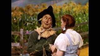 Ray Bolger & Judy Garland - If i only had a brain (The Wizard Of Oz)