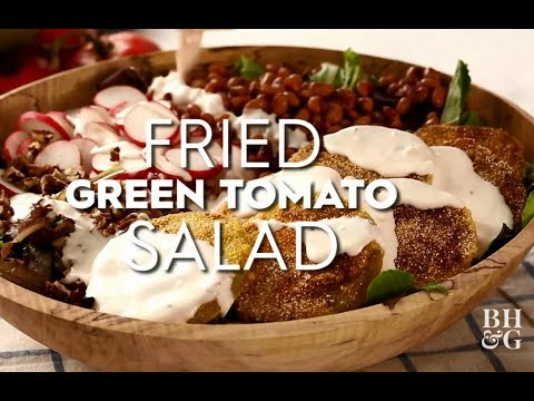 Fried Green Tomato Salad  | Fast & Fresh | Better Homes & Gardens