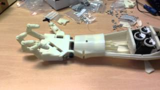 InMOOV 3d Printed hand