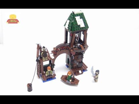 Vidéo LEGO Le Hobbit 79016 : L'attaque de Lacville