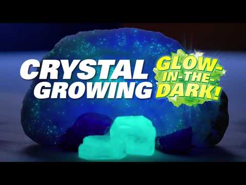 Youtube Video for Crystal Growing Kit - Glow in the Dark USA