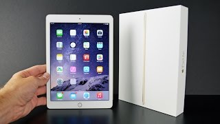 Apple iPad Air 2: Unboxing & Review - dooclip.me