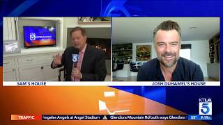 Actor Josh Duhamel On Being Stuck At Home, & About His New Movie The Lost Husband Out 4/10 On VOD