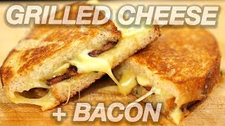 Bacon Grilled Cheese- Easy & Quick Recipe