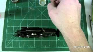 Oorail.com | How To Repair A Slow Moving Steam Locomotive - OO Scale Model Railway
