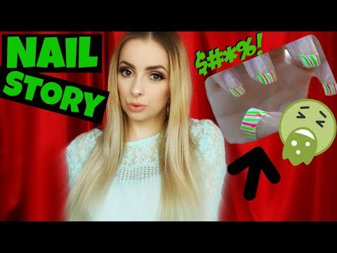 The WORST Nails I Ever Got..With Pictures! (June Q&A)