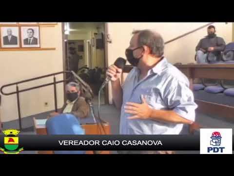 Sessão Ordinária de Câmara de Vereadores de Caçapava do Sul 19-05-2020