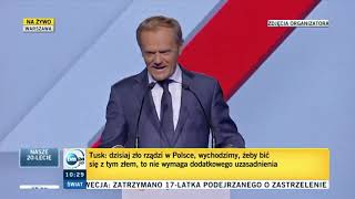 Donald Tusk wraca do polskiej polityki!