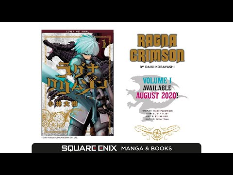 'Ragna Crimson' English Subbed Manga Trailer